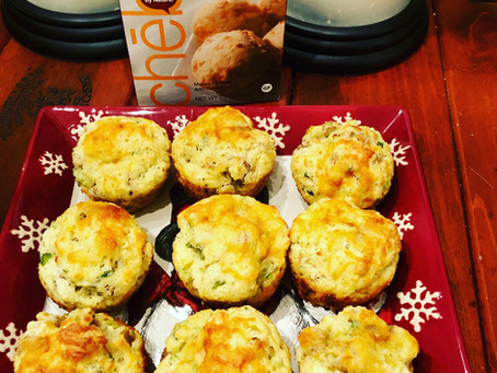 Grab & Go GF Sausage & Cheddar Breakfast Biscuits