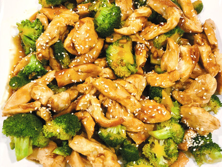 Better (and healthier!) than Chinese takeout; Chicken & Broccoli Stir-fry (GF, DF)