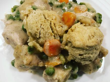 Chicken & GF Biscuits from Gluten Free Palate