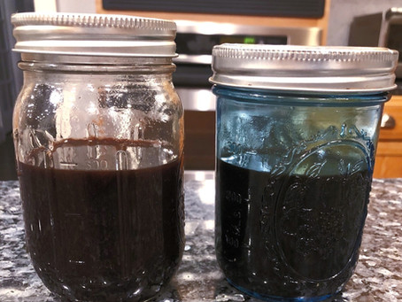 Flu 😷 season is upon us...here's how I fight back  🦸♀️ 💪🏻 with homemade Elderberry syrup!