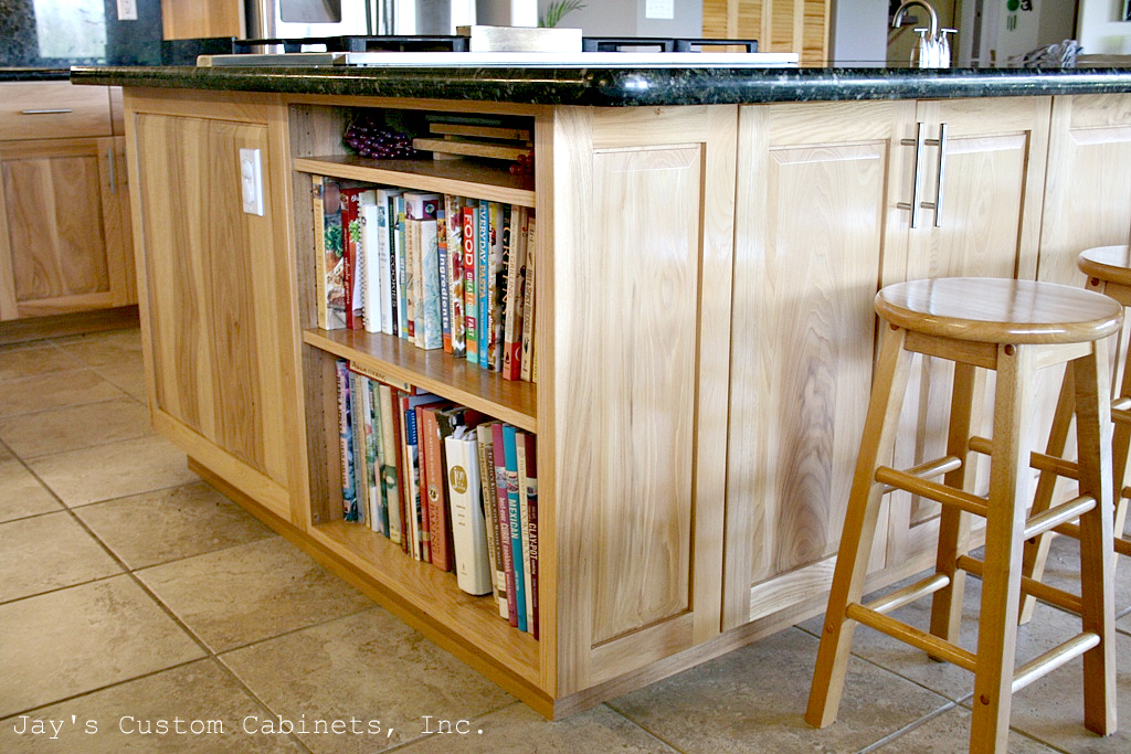 Winchester Raised Style w/ Solid Drawer Fronts | Hickory | Clear Finish | Granite
