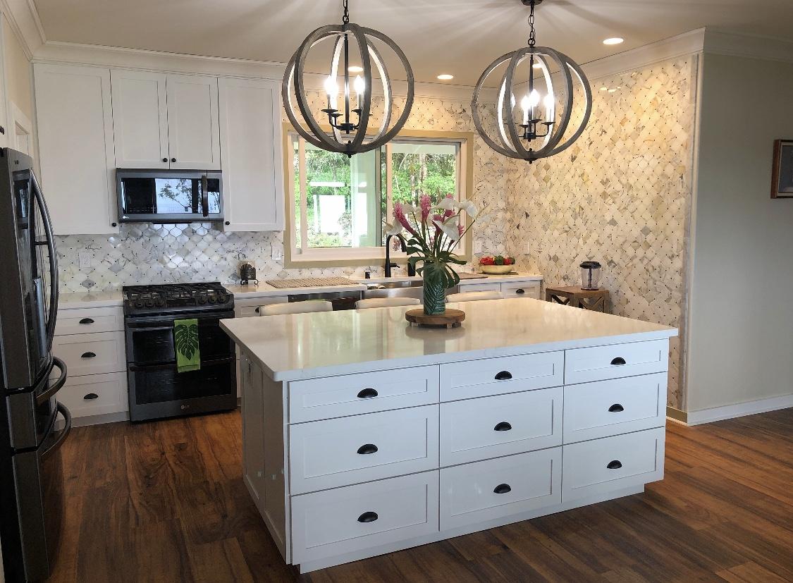 Shaker Style | Decorators White Conversion Varnish Paint | Silestone Quartz