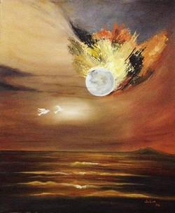 Encontro da Lua e do Sol