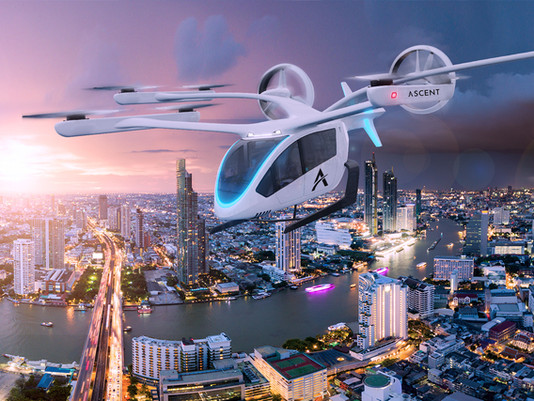 Ascent announces partnership with Eve Urban Air Mobility