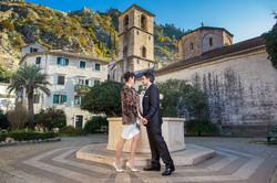mladenci u Kotoru, crkva, vjenčanje