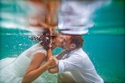 Podvodna profesionalna svadbena foto