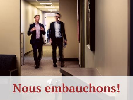 Opportunité de carrière - Associé(e) au service à la clientèle (Moncton, NB)