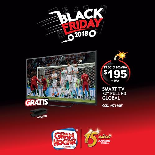 "Smart TV Global 32"" Full HD"