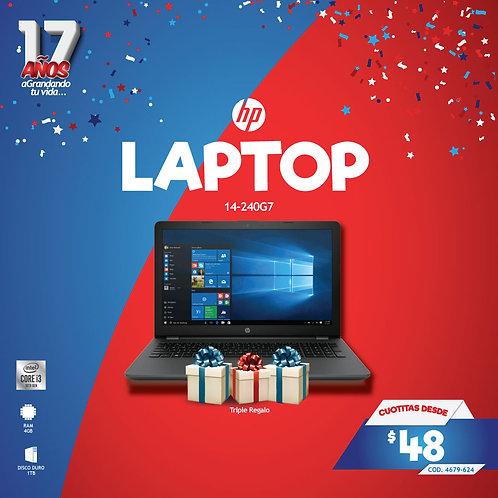 COMPUTADOR PORTATIL 14-240G7 CORE I3 10MA G 4GB 1TB HP