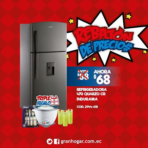 Refrigeradora 470 Quarzo CR Indurama