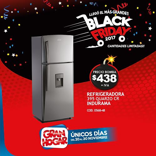 Refrigeradora Indurama 395 Quarzo CR