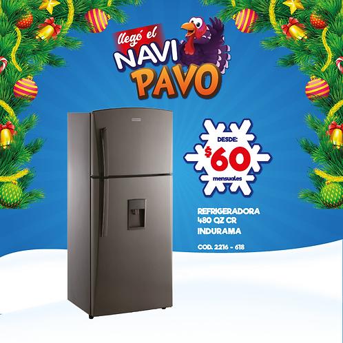 Refrigeradora Indurama 480 Quarzo CR