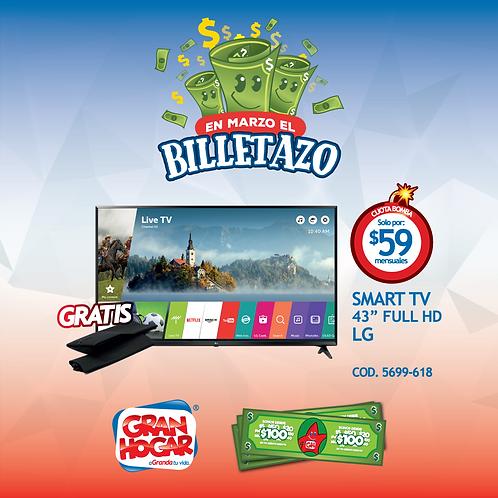 """Smart TV 43"""" Full HD LG"""