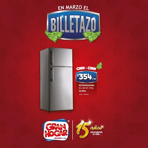 Refrigeradora RG-200 Global