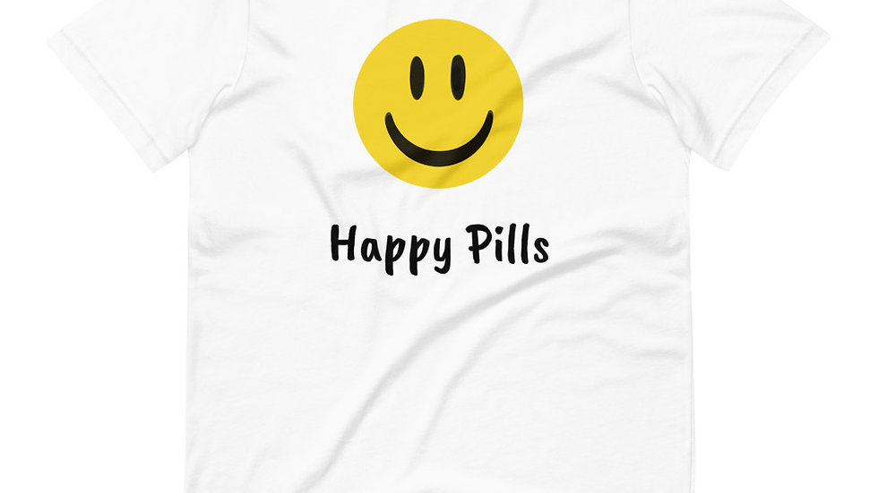 Short-Sleeve Smiley Unisex T-Shirt