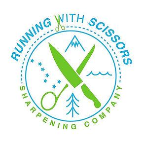 Fun logo for Running with Scissors Sharp