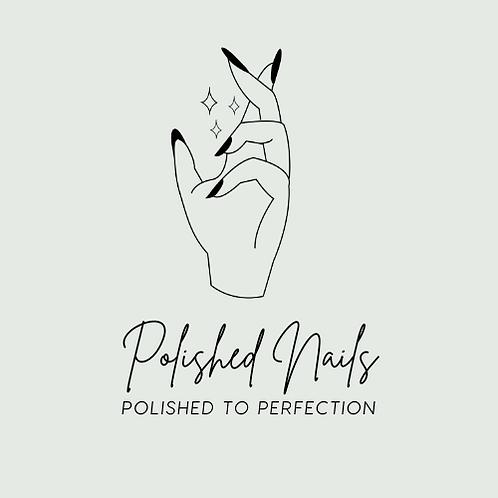 Nail Artist Pre-made Logo Template
