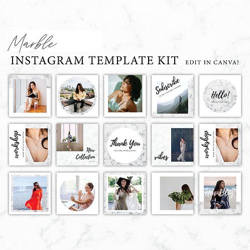 Marble Instagram Branding Template
