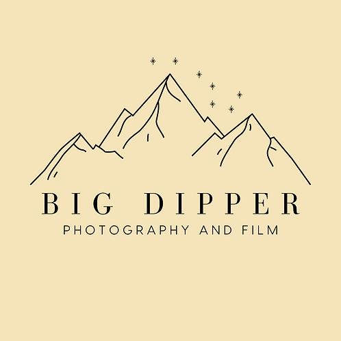 Simple Mountain Pre-made Logo Template