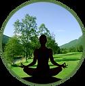 Golgspill mit Yoga