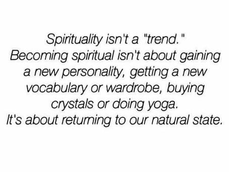Spirituality: Good Trend or Tragedy Trend?