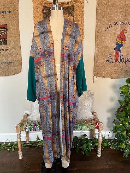 Organic Cotton Lioness Kimono