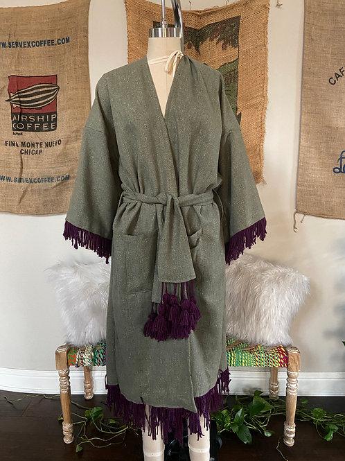 Oversized Kimono Style Jacket