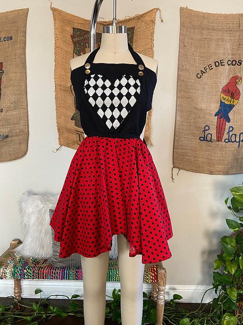 Queen of Hearts Costume Dress
