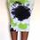 Thumbnail: Lime Stone Tie-Dye Pencil Skirt