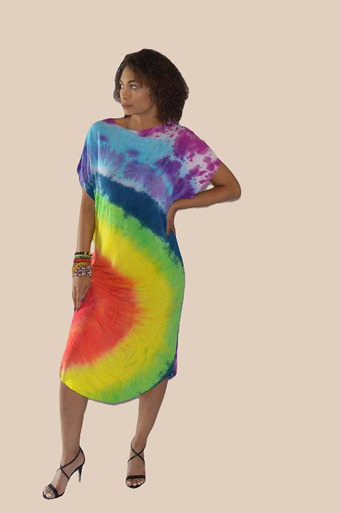 Rainbow T-Shirt Dress