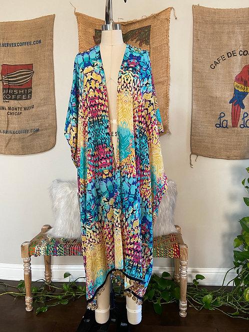 Multi Color Kimono / Duster