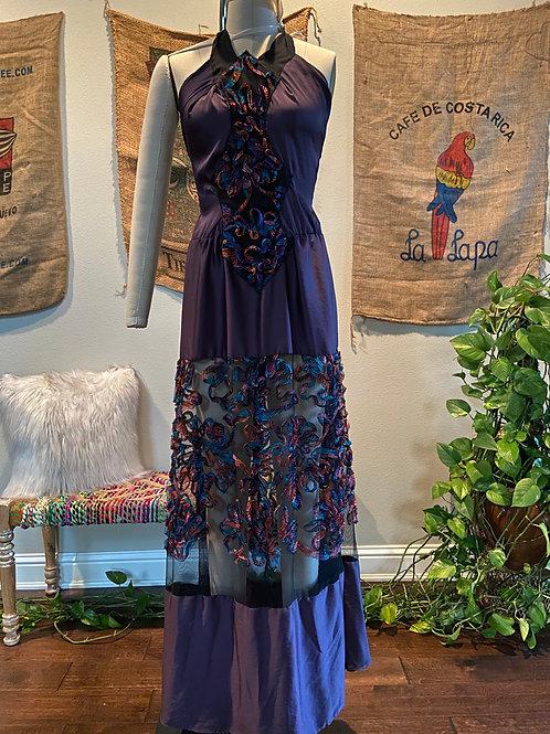 Eggplant Maxi Dress