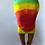 Thumbnail: Rainbow Tie-Dye Pencil Skirt
