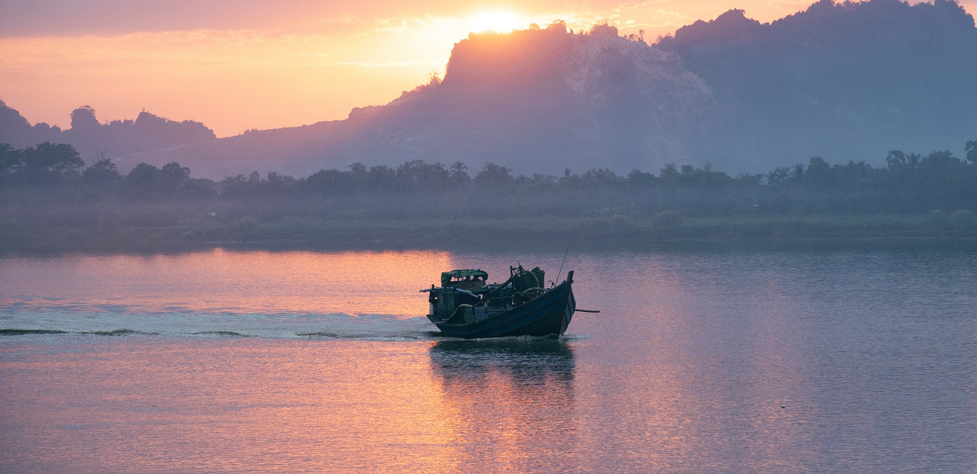 Sunset in Hpa An