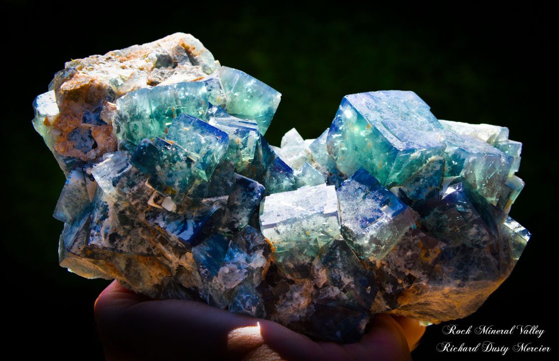 Fluorite from Madagascar