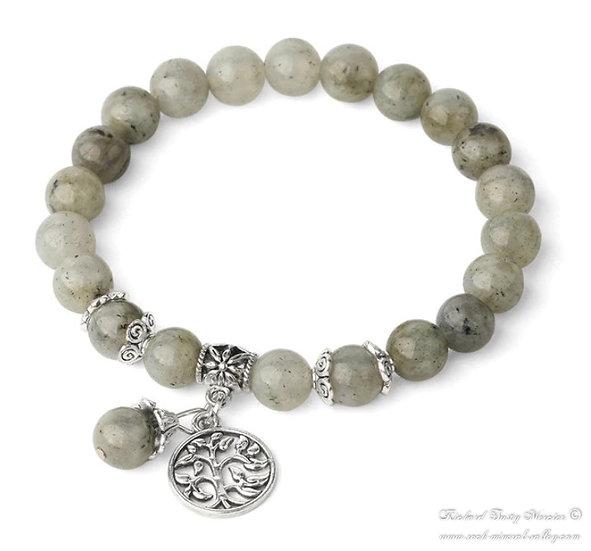 Bracelet Arbre de Vie Labradorite
