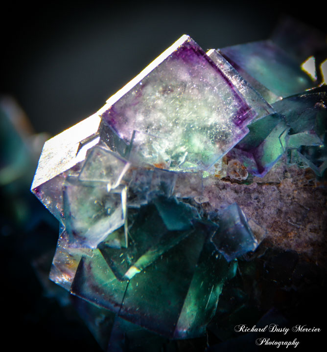 Fluorite from Okorusu
