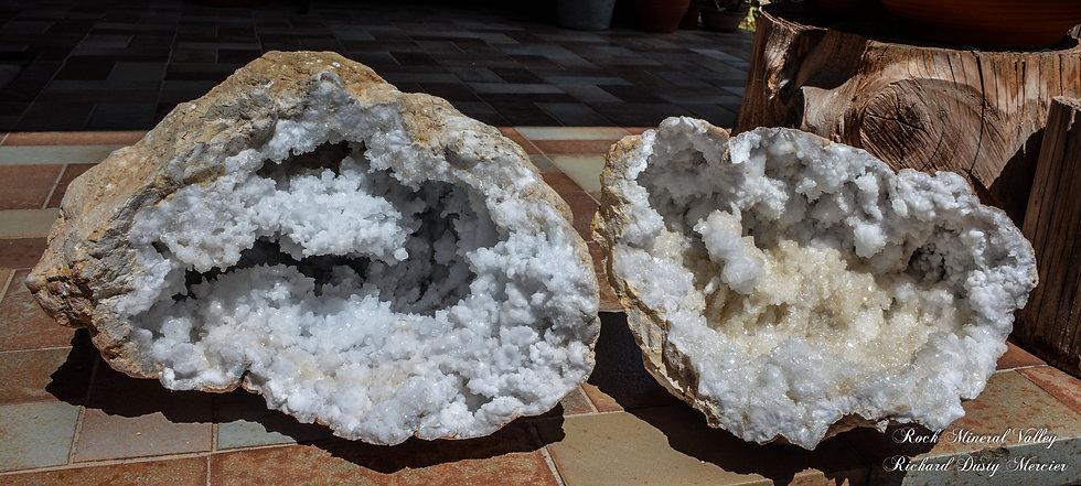 Géode de Quartz et Calcite XXL