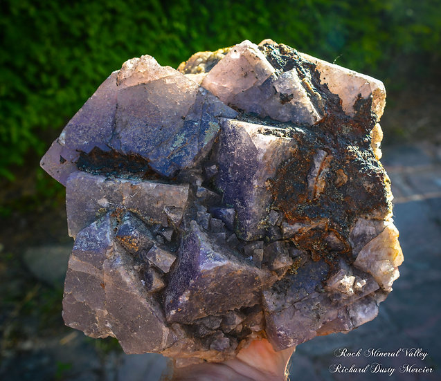 Fluorite de El Hammam, Maroc