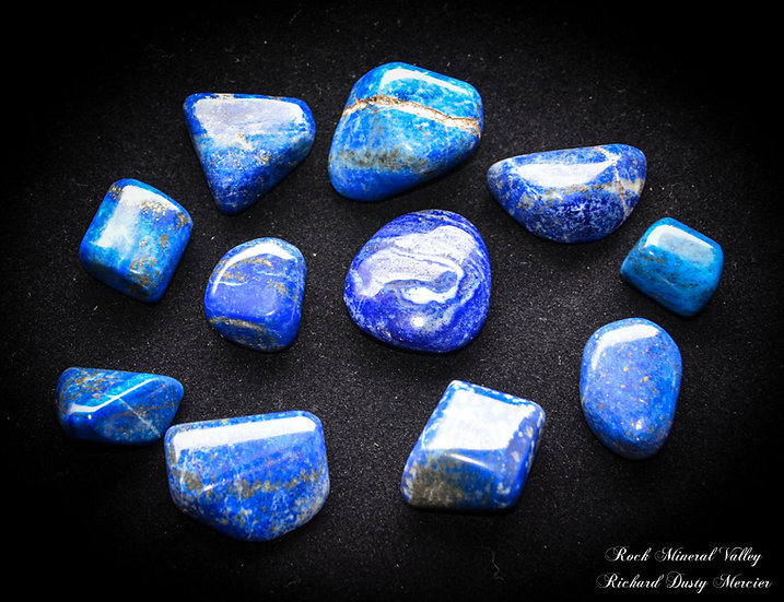 Pierres Roulées Lapis Lazuli