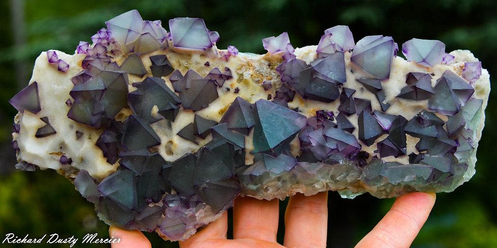 Fluorite Octaèdre de DeAn Mine, Chine