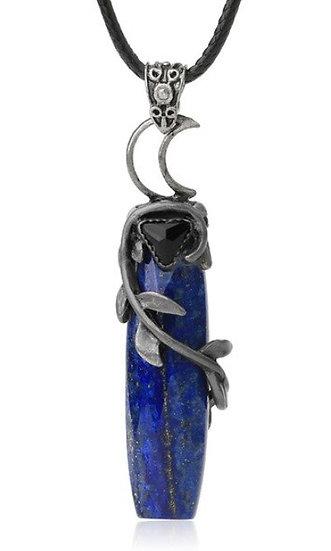 Pendentif Lapis Lazuli Wica Lune