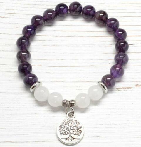 Bracelet Arbre de Vie Zen Améthyste