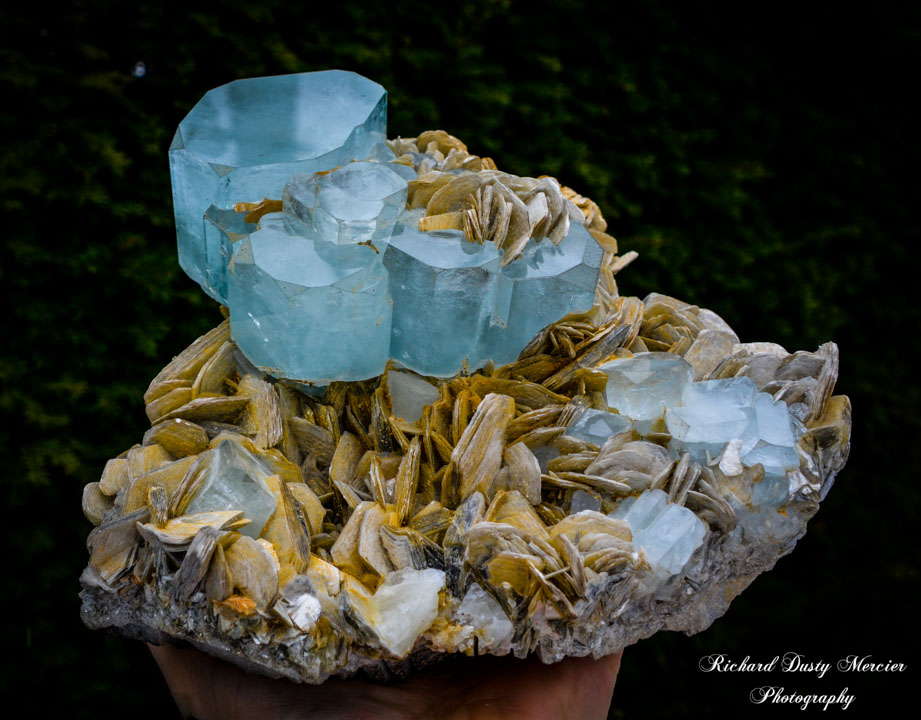 AquaMarine (Aigue Marine) Muscovit