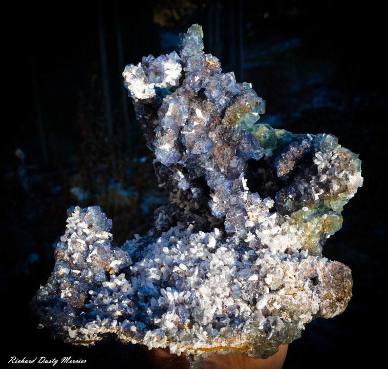 Fluorite Quartz from Okorusu