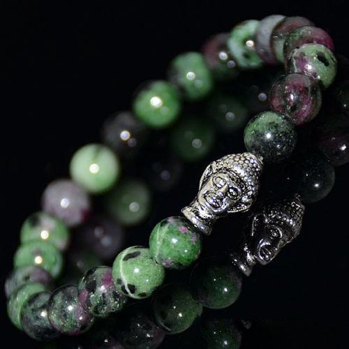 Bracelet Bouddha Rubis Zoisite