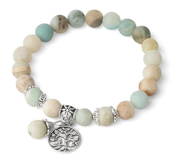 Bracelet Arbre de Vie Amazonite