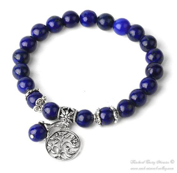 Bracelet Arbre de Vie Lapis Lazuli