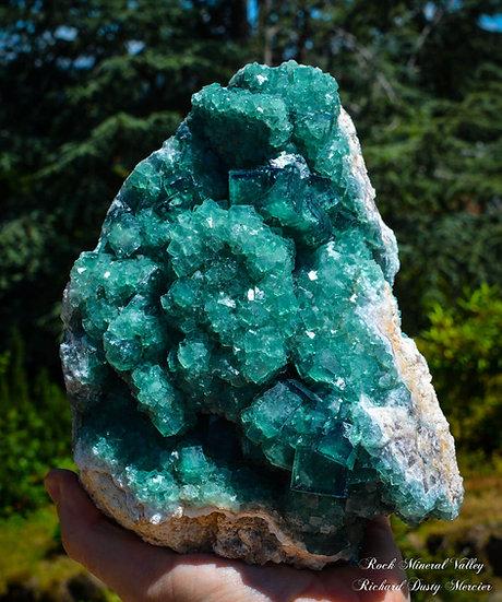 Fluorite Vert et Bleu de Madagascar
