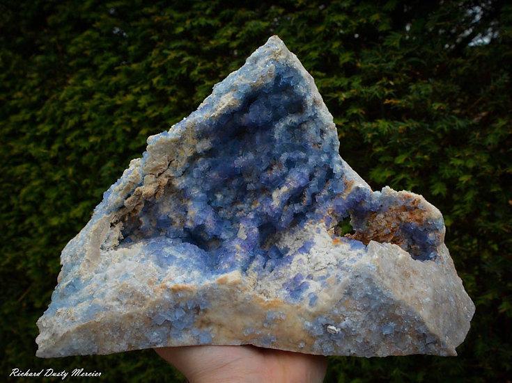 Fluorite sur Quartz de Bingham XL